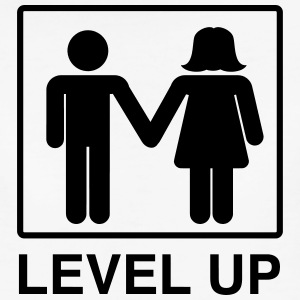 level-up-marriage-couple-women-s-t-shirts-womens-premium-t-shirt