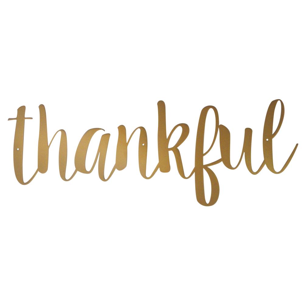 Thankful-Wall-Sign-Script-Font-Gold