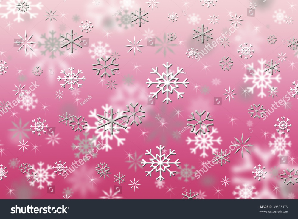 stock-photo-hot-pink-snowflakes-39593473